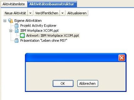 WMC error message